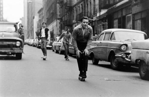 Skateboarding in the 60's